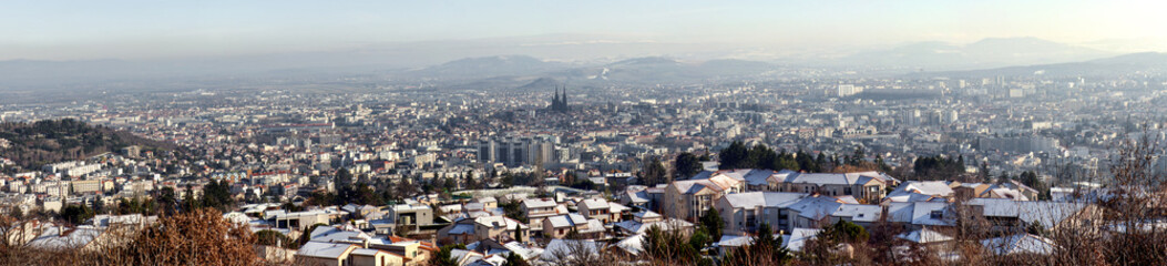 Clermont-Ferrand panorama