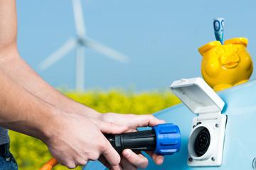 günstig elektromobil laden