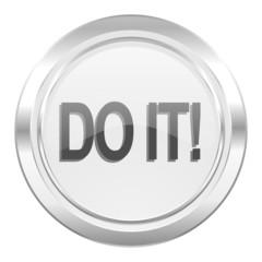 do it metallic icon