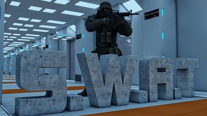 Swat men