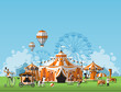 Abstract Classical Circus tent - 75340888
