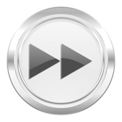 rewind metallic icon