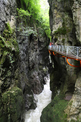 Gorges du Fier, beautiful gorge, river canion, France