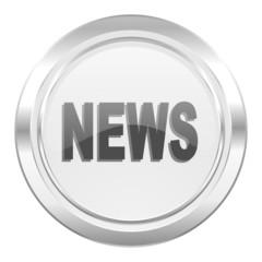 news metallic icon