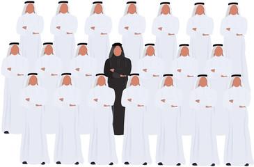 gruppo di arabi