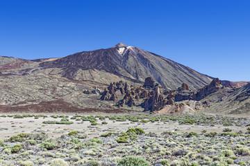 View of Teide. Tenerife. Spain.
