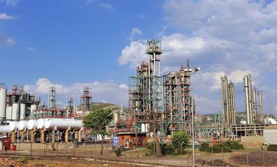 Refinería de petróleo, Puertollano, Ciudad Real, España