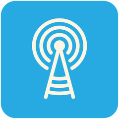 Transmitter tower icon