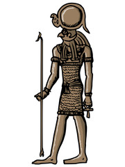 Horus, god of ancient Egypt