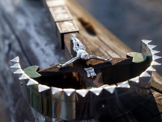 slovak traditional wooden crosses