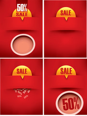 discount sale background banner