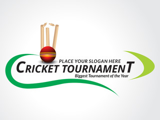 Cricket Trournament Banner Background