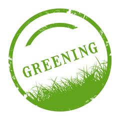 sk414 - StempelGrafik Rund - greening - grün - g2902