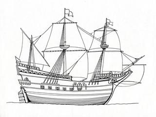 Galleon, 1587