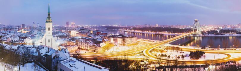 Panoramic view of Bratislava