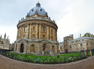 Panoramic view of the Radcliffe Camera