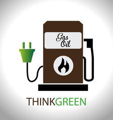 Energy design,vector illustration.
