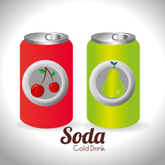 Drink design, vector illustration.