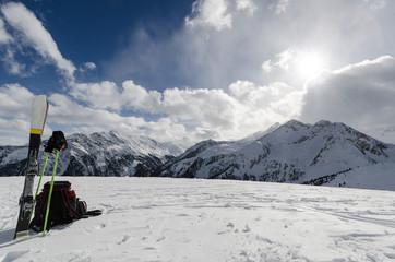Austria,Tirol, Zillertal, Zillertal Arena, Plattenkogel, 2040 m