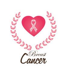 Cancer design over white background vector illustration
