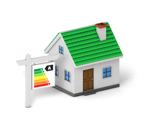 green roof house energy label