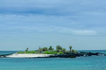 beautiful islet in the galapagos islands archipelago