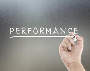 performance text