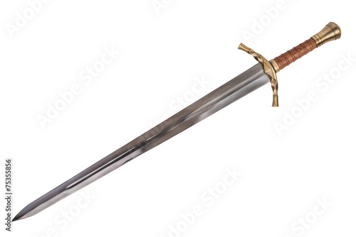 Leinwanddruck Bild Sword