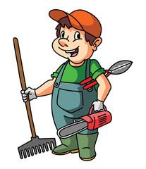 Gardener Man