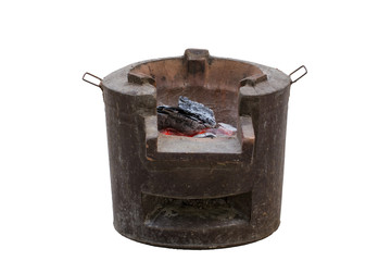 Brazier old oven