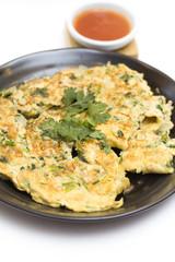 omelet, Thai style fried egg