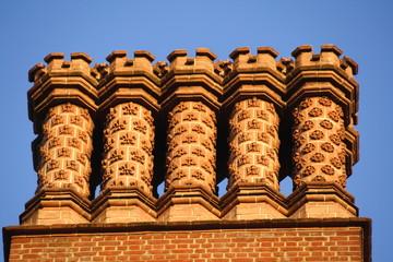 Tudor Chimneys