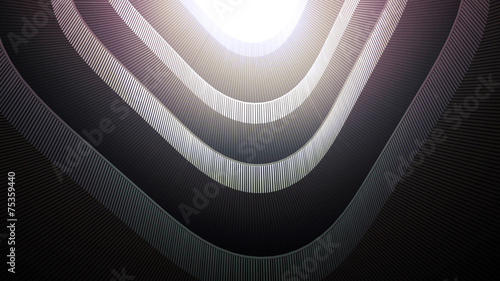 Plexiglas Trappen stairs