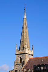 All Saints Church spire, Evesham © Arena Photo UK