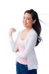 Vietnamese teenage girl