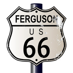 Ferguson Route 66 Sign