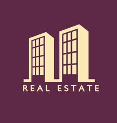 Real estate Flat Color