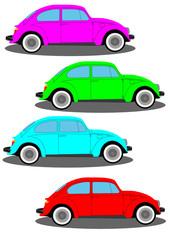 Beetle multicolour