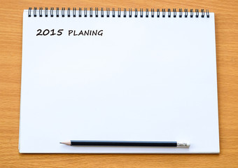 Blank paper for 2015 to do list background