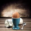 Leinwandbild Motiv egg