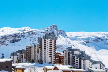 View of Tignes Val Claret