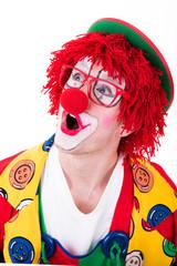 portrait vom clown