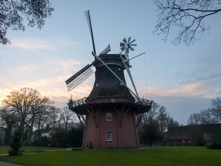 Bad Zwischenahn, windmill in the open-air museum