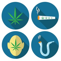 cannabis icons