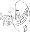 bigger fish saying cartoon