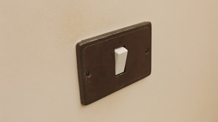 Light switch on off