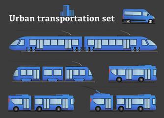 Urban transportation set