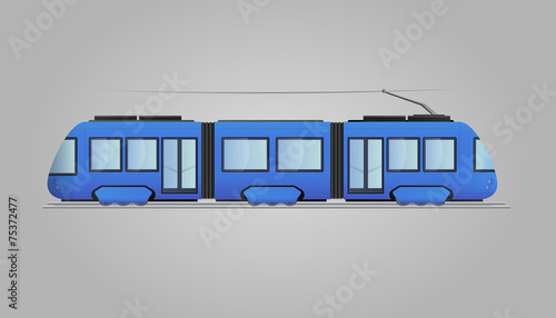 Tram extended Urban Transport - 75372477
