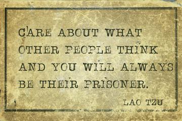 prisoner Tzu