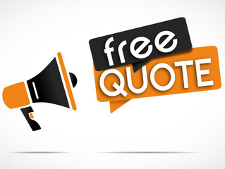 megaphone : free quote